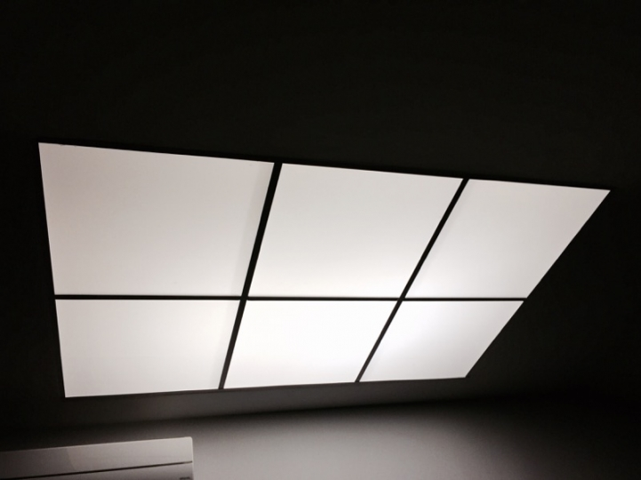 Dalle d'éclairage LED plafond