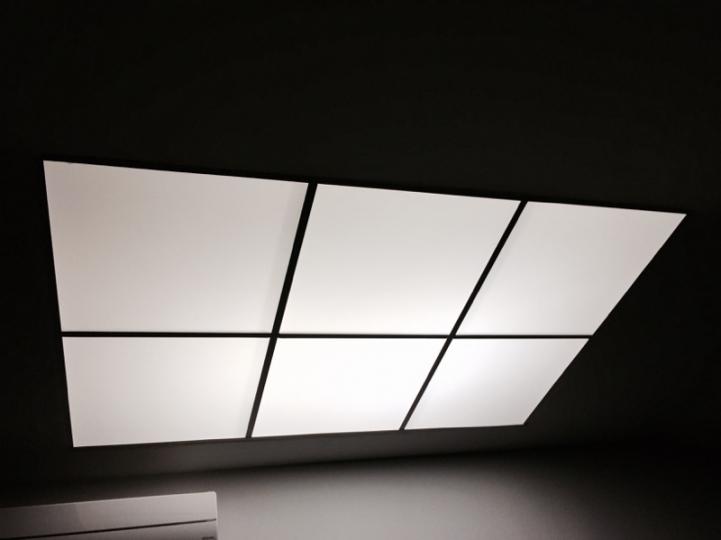 Dalle d'éclairage LED plafond